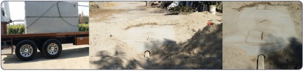 Bray's Hoe Services repairs and installs septic systems.